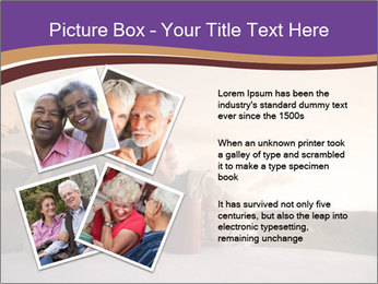 Elderly Couple PowerPoint Templates - Slide 23