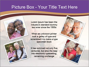Elderly Couple PowerPoint Templates - Slide 24