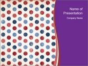 USA Fabric Print PowerPoint Templates