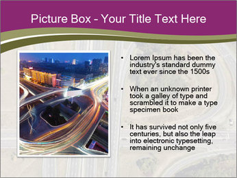 Aerial View Of Highway PowerPoint Templates - Slide 13