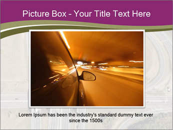 Aerial View Of Highway PowerPoint Templates - Slide 15