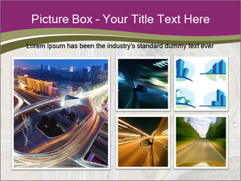 Aerial View Of Highway PowerPoint Templates - Slide 19