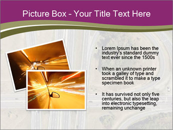 Aerial View Of Highway PowerPoint Templates - Slide 20