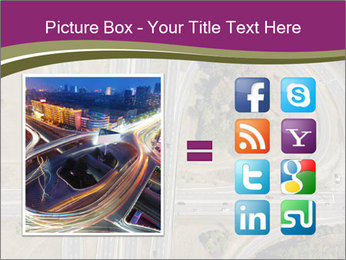Aerial View Of Highway PowerPoint Templates - Slide 21