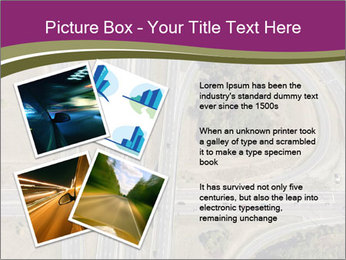 Aerial View Of Highway PowerPoint Templates - Slide 23