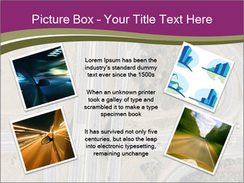 Aerial View Of Highway PowerPoint Templates - Slide 24