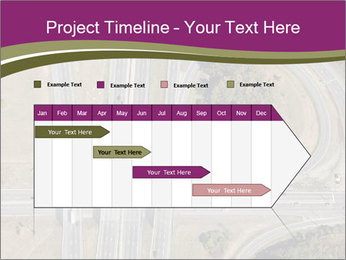 Aerial View Of Highway PowerPoint Templates - Slide 25