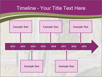 Aerial View Of Highway PowerPoint Templates - Slide 28