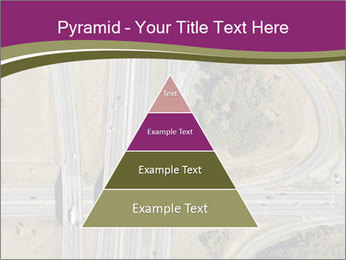 Aerial View Of Highway PowerPoint Templates - Slide 30