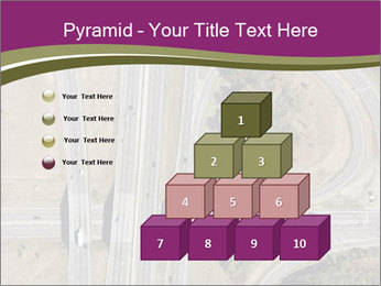 Aerial View Of Highway PowerPoint Templates - Slide 31