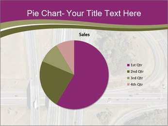 Aerial View Of Highway PowerPoint Templates - Slide 36