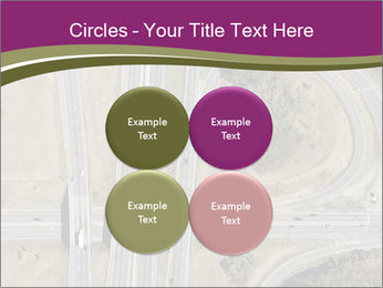 Aerial View Of Highway PowerPoint Templates - Slide 38