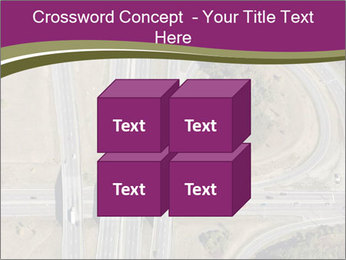 Aerial View Of Highway PowerPoint Templates - Slide 39