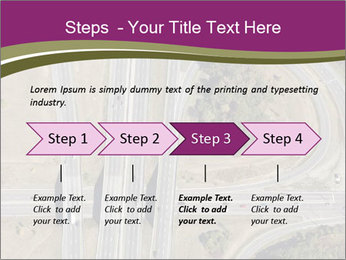 Aerial View Of Highway PowerPoint Templates - Slide 4