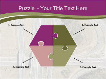 Aerial View Of Highway PowerPoint Templates - Slide 40