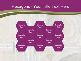 Aerial View Of Highway PowerPoint Templates - Slide 44