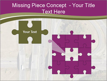 Aerial View Of Highway PowerPoint Templates - Slide 45