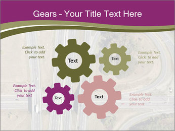 Aerial View Of Highway PowerPoint Templates - Slide 47