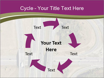 Aerial View Of Highway PowerPoint Templates - Slide 62