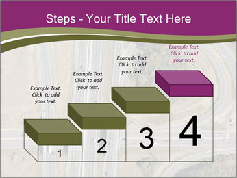 Aerial View Of Highway PowerPoint Templates - Slide 64