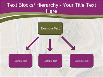 Aerial View Of Highway PowerPoint Templates - Slide 69