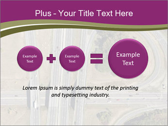 Aerial View Of Highway PowerPoint Templates - Slide 75