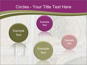 Aerial View Of Highway PowerPoint Templates - Slide 77