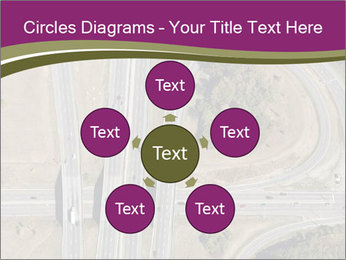Aerial View Of Highway PowerPoint Templates - Slide 78