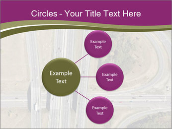 Aerial View Of Highway PowerPoint Templates - Slide 79