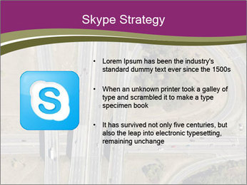 Aerial View Of Highway PowerPoint Templates - Slide 8