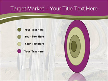 Aerial View Of Highway PowerPoint Templates - Slide 84