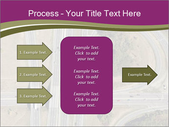 Aerial View Of Highway PowerPoint Templates - Slide 85