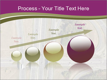 Aerial View Of Highway PowerPoint Templates - Slide 87