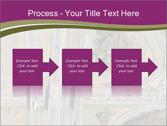 Aerial View Of Highway PowerPoint Templates - Slide 88