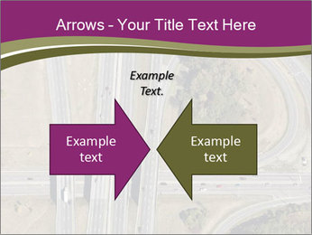 Aerial View Of Highway PowerPoint Templates - Slide 90