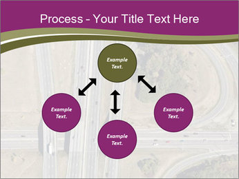 Aerial View Of Highway PowerPoint Templates - Slide 91