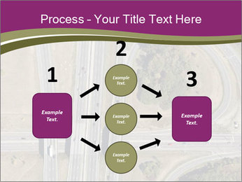 Aerial View Of Highway PowerPoint Templates - Slide 92