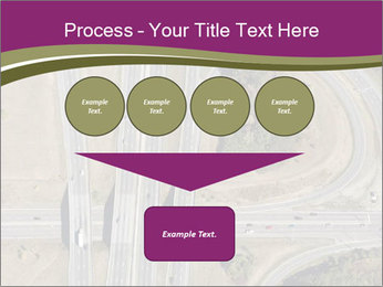 Aerial View Of Highway PowerPoint Templates - Slide 93