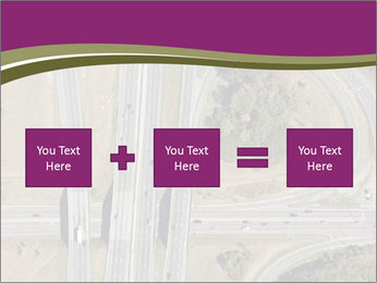 Aerial View Of Highway PowerPoint Templates - Slide 95