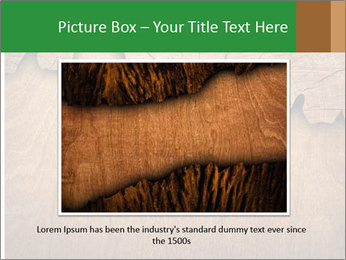 Slice Of Wood PowerPoint Template - Slide 15