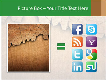 Slice Of Wood PowerPoint Template - Slide 21