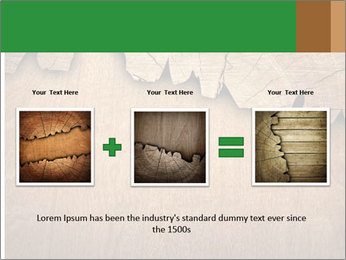 Slice Of Wood PowerPoint Template - Slide 22
