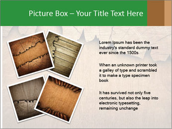 Slice Of Wood PowerPoint Template - Slide 23