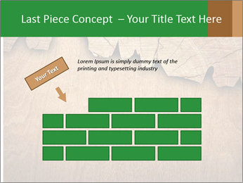 Slice Of Wood PowerPoint Template - Slide 46