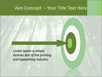 Green Landscape In Japan PowerPoint Templates - Slide 83