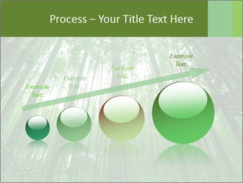 Green Landscape In Japan PowerPoint Templates - Slide 87
