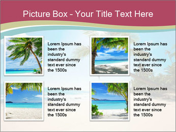 Perfect Beach PowerPoint Template - Slide 14
