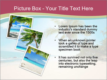 Perfect Beach PowerPoint Template - Slide 17