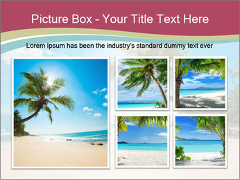 Perfect Beach PowerPoint Template - Slide 19