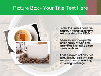 Black Coffee On Wooden Table PowerPoint Templates - Slide 20